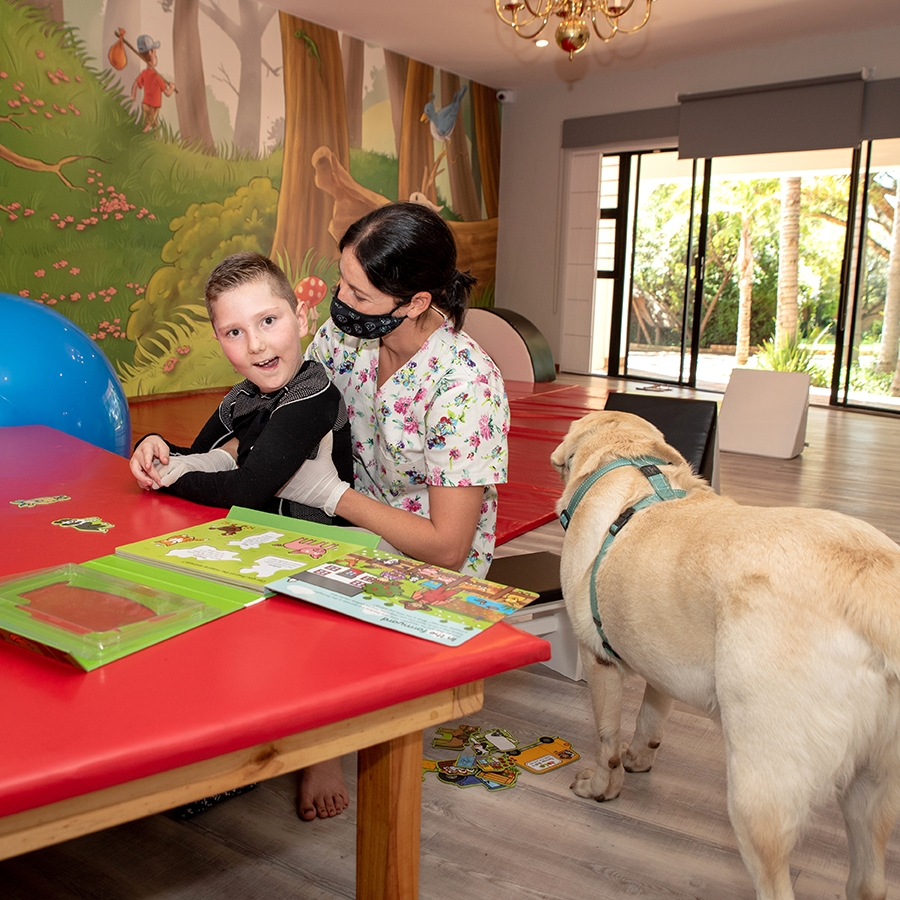 Our soft play area is a great environment for play and learning